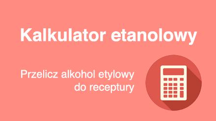 Kalkulator etanolowy